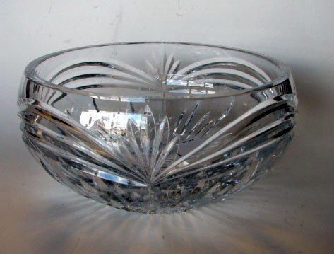 4: Waterford Clear Crystal Fruit Bowl.