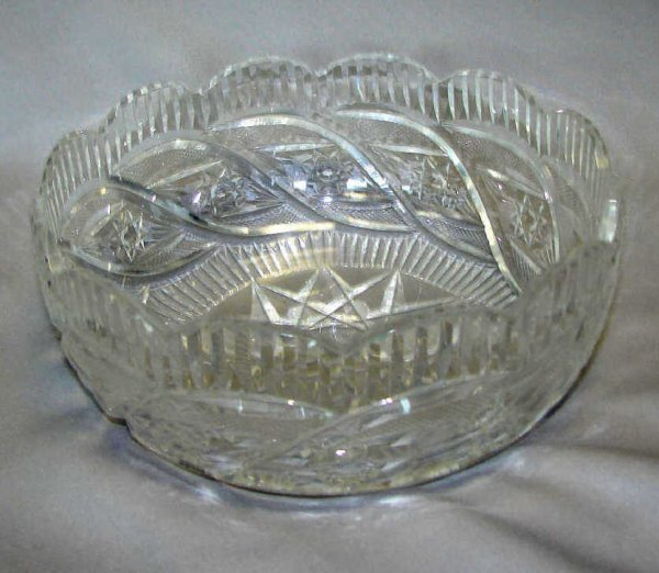 19: Waterford Crystal Fruit Bowl.