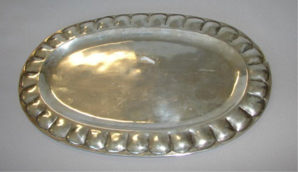 7: Feisa Mexico 925 sterling silver tray. 10 oz.