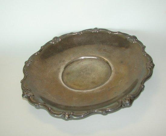 18: Gorham Sterling Silver Cake Plate.