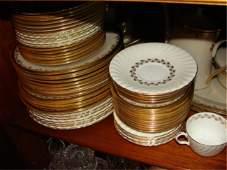 211: Minton bone china, service for six.