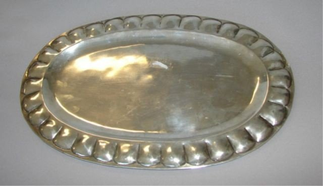 2A: Feisa Mexico 925 sterling silver tray. 11.5 oz.