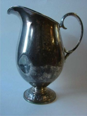 13: Towle sterling silver water pitcher.  20.5 oz.