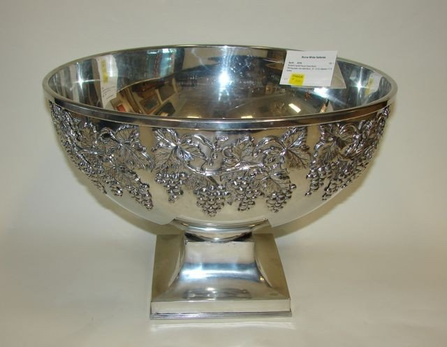 5: Richard Cipolla Pewter Punch Bowl.