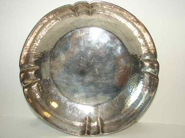 17: Novick, Chicago Sterling Bowl, Hand Wrought.