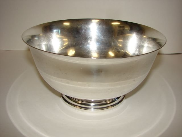 3: Gorham Sterling Silver Bowl, Paul Revere Style.