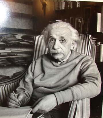5: ALFRED EISENSTAEDT (1898-1995) ALBERT EINSTEIN.