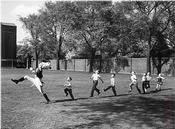7: EISENSTAEDT  PHOTOGRAPH.  DRUM MAJOR 1951.