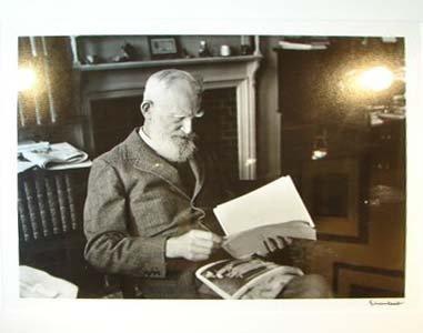 11: ALFRED EISENSTAEDT (1898-1995) GEORGE BERNARD SHAW
