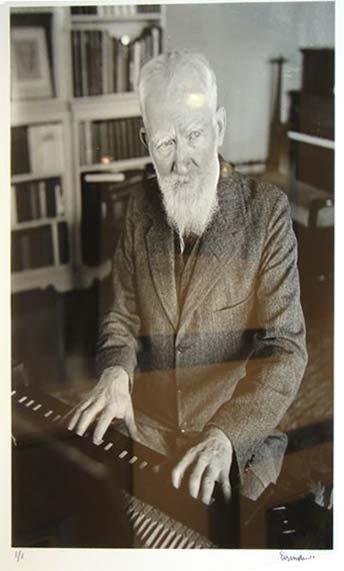 13: ALFRED EISENSTAEDT (1898-1995) GEORGE BERNARD SHAW