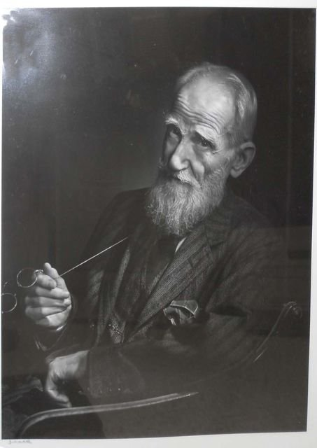 15: YOUSUF KARSH (1908-2002) GEORGE BERNARD SHAW.