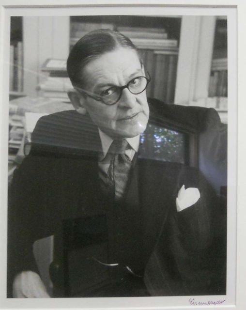 16: ALFRED EISENSTAEDT (1898-1995) T.S. ELLIOT
