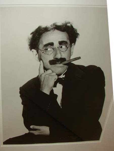 22: PHOTOGRAPH ALFRED EISENSTAEDT as GROUCHO  MARX