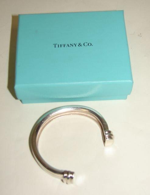 """17: Tiffany & Co. Sterling """"Atlas"""" Bracelet."""