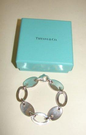 18: Tiffany & Co. Sterling Link Bracelet.