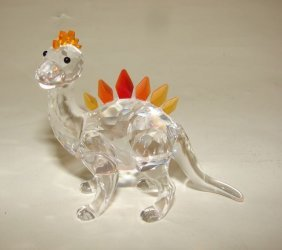21: Swarovski Crystal Dinosaur Figurine