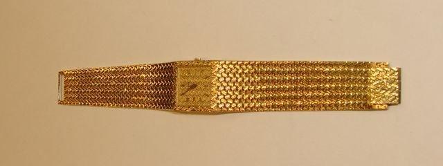 175: Piaget 18K Yellow Gold Wrist Watch.