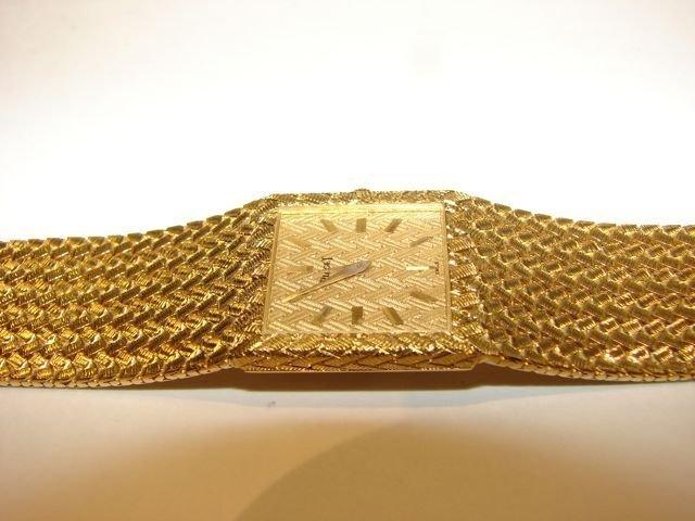 175: Piaget 18K Yellow Gold Wrist Watch. - 2