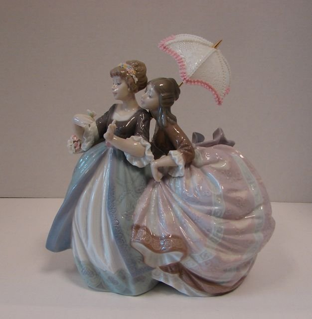 "Lladro Figurine, ""Southern Charm"", # 5700."