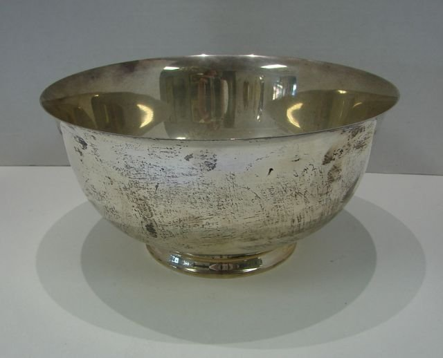 Wallace Sterling Silver Revere Style Bowl.