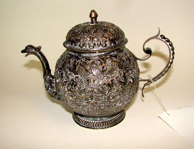 Dutch Silver Tea Pot, 1859 - 1953.