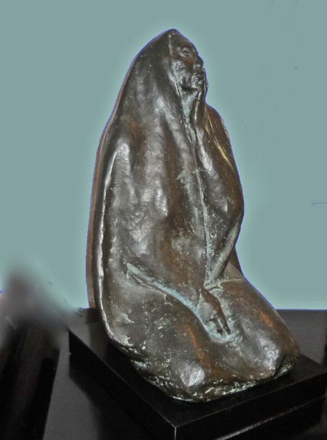 "Zuniga Bronze, ""Seated Woman"", 1975, III/VI."