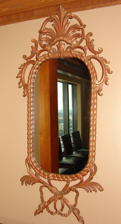Pair (2) of Georgian Style Console Mirrors.