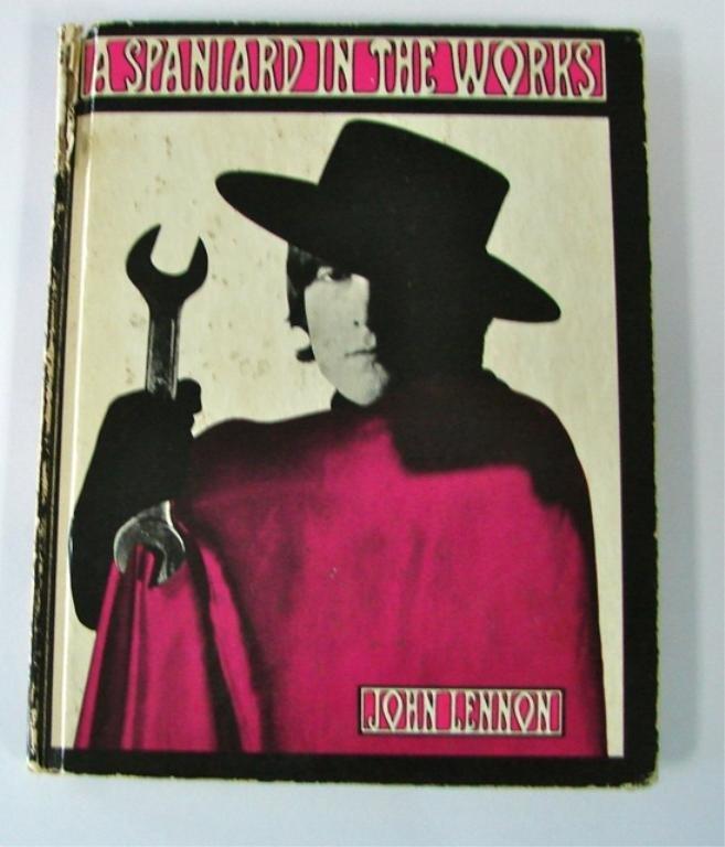 John Lennon Autographed Book, A Spaniard/Works.