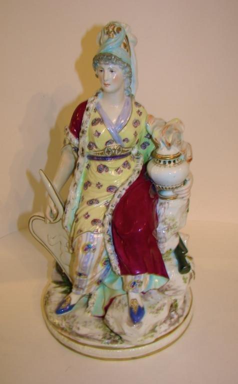 Samson Porcelain Figurine. French Lady.