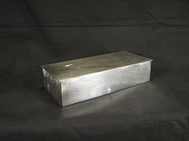 Tiffany & Co. Sterling Silver Cigarette Box.