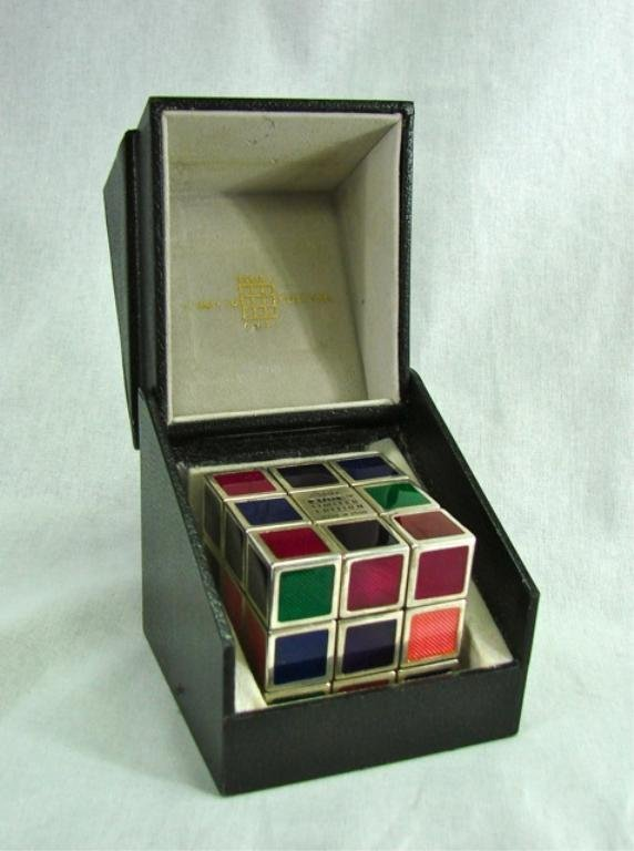 Sterling Silver Rubic's Cube, 7 Towns Ltd.