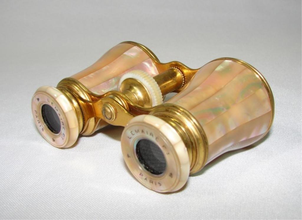 Antique Mother-of- Pearl Binoculars.