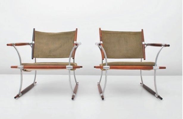 Pair Jens Quistgaard Lounge Chairs