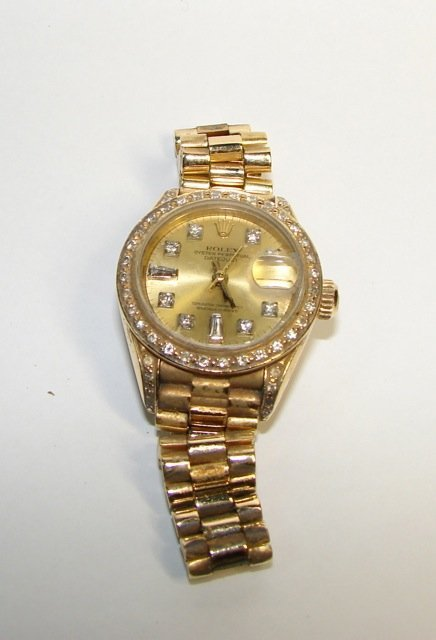 Rolex Ladies President Oyster Perpetual Datejust