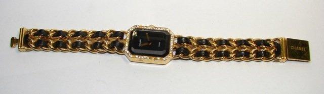 Chanel Gold Tone Lady's Wrist Watch