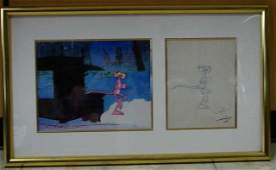 Friz Freleng Original Drawing - Pink Panther