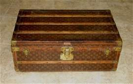 Louis Vuitton Vintage Monogram Steamer Trunk