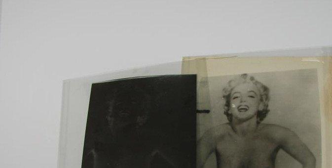 Marilyn Monroe Nude Photo Negative and Photo