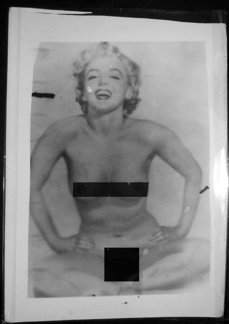Marilyn Monroe Nude Photo Negative and Photo - 2