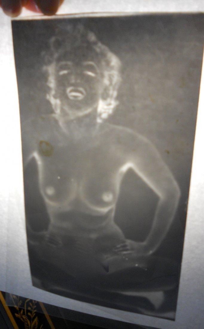 Marilyn Monroe Nude Photo Negative and Photo - 3