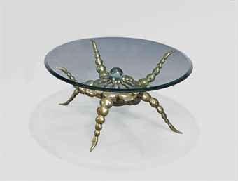 Mark Brazier Jones Octopus Table, C. 1995