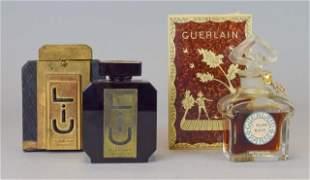 2 Guerlain French Perfume Bottles