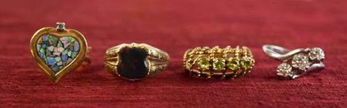 14 Karat Gold Rings