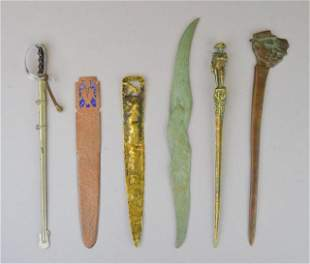 Grouping of Letter Openers