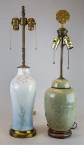 2 Porcelain Table Lamps