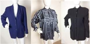 Giorgio Armani Two Wool Women's Blazers and Shirt