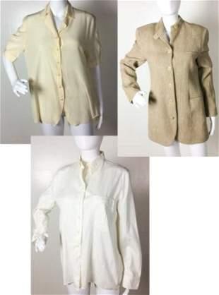Giorgio Armani Lot of 3 Jackets / blouses