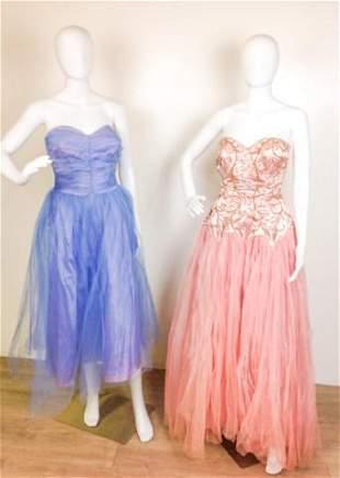 Two Vintage Custom Performance Dress