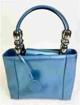 Blue Vintage Christian Dior Purse