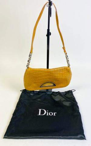 Christian Dior Alligator Malice Shoulder Bag